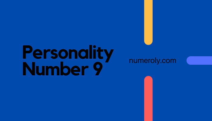 personality number 9