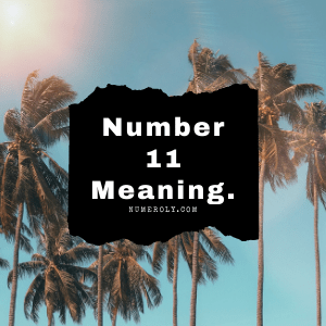 number 11 meaning