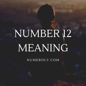 number 12 meaning