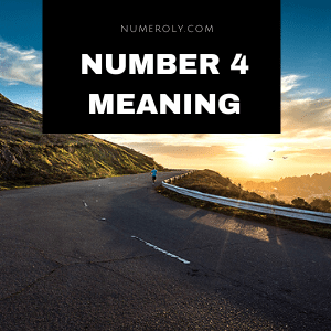 number 4 meaning