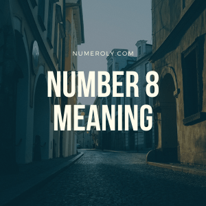 number 8 meaning