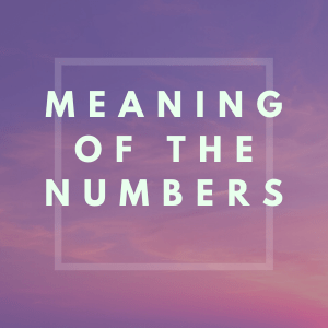 meaning of the numbers